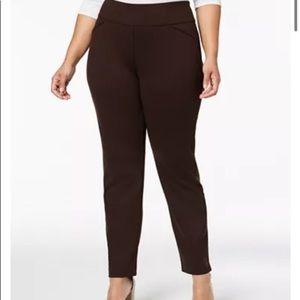 Charter Club Plus Size Ponté-Knit Pants
